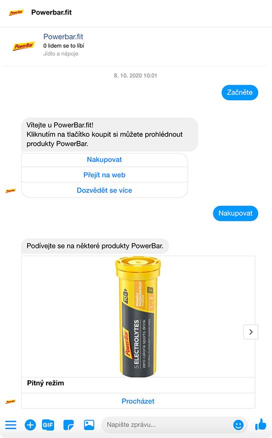 Prodejní kampaň TwinAds na Messengeru